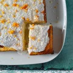 Orange And Coconut Traybake