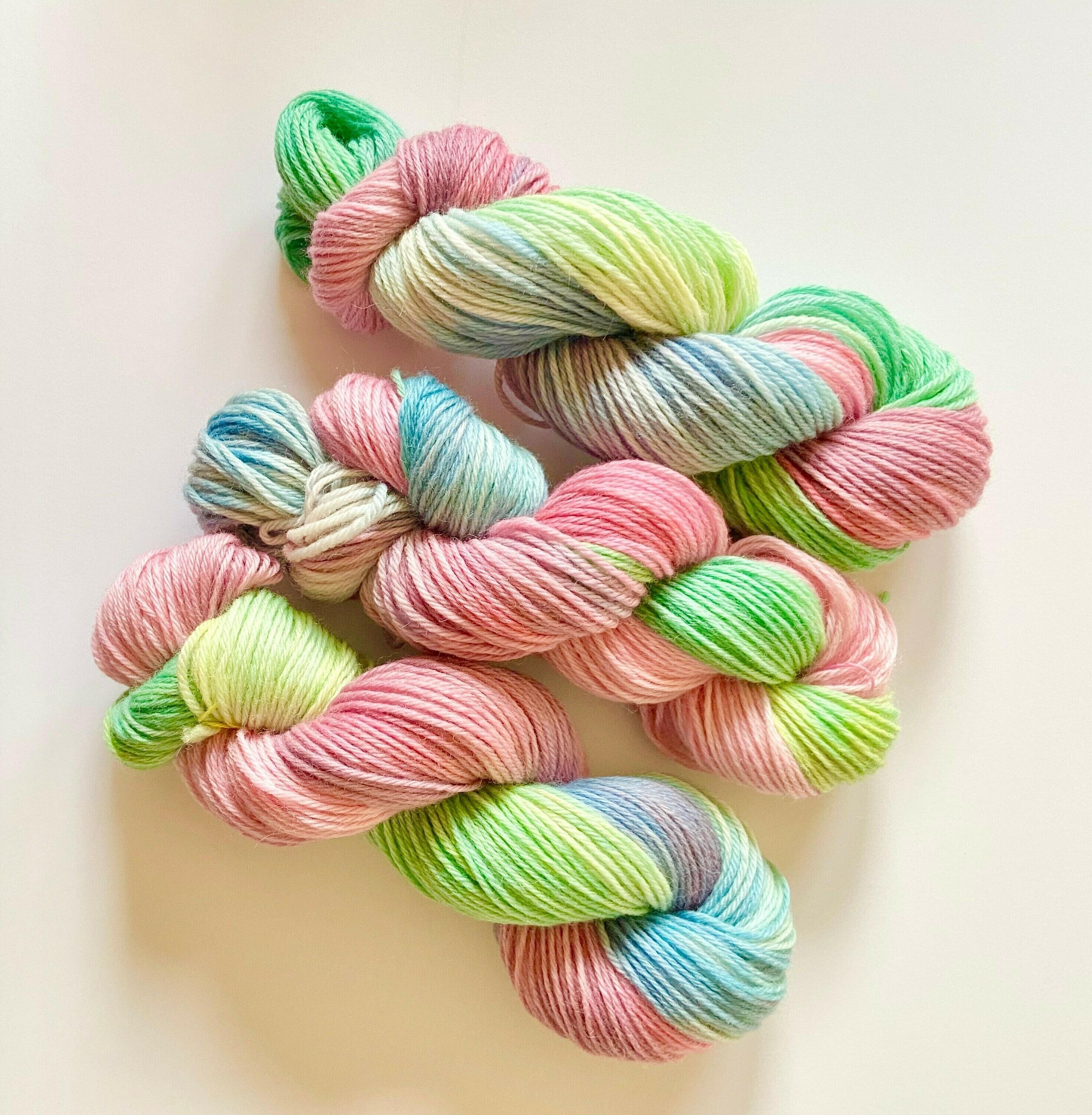 Sweet Tart Hand Dyed Yarn