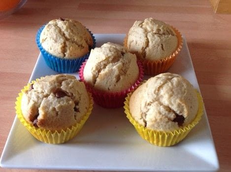 .  Free tutorial with pictures on how to bake a muffin in under 45 minutes by cooking and baking with butter, oil, and sugar. Recipe posted by Super Madcow.  in the Recipes section Difficulty: Easy. Cost: Cheap. Steps: 6