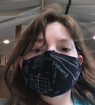 A fashionable Breathable mask for the pandemic .  Make an accessory in under 150 minutes by embellishing, needleworking, hand sewing, and machine sewing with fabric, scissors, and pattern. Creation posted by Kinhime Dragon.  in the Needlework section Difficulty: 3/5. Cost: No cost.