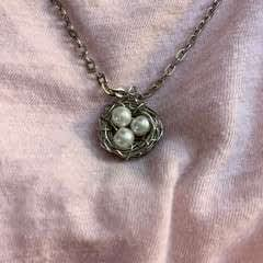 Easy Diy Wire Wrapped Bird's Nest Necklace