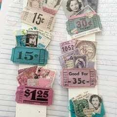 Easy Vintage Ticket Paperclip