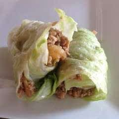 Chicken & Lettuce Wraps