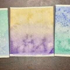 Card Making Part 1: Watercolor Card Covers