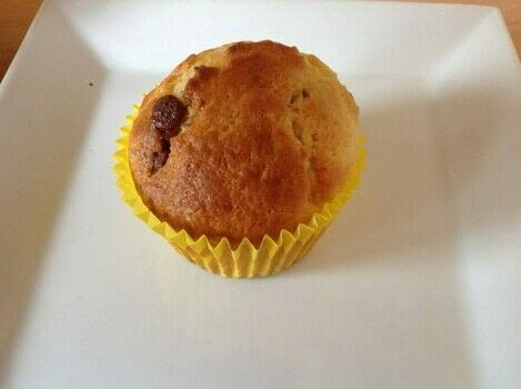 Chocolate chip muffins  .  Free tutorial with pictures on how to bake a chocolate chip muffin in under 35 minutes by cooking and baking with flour, sugar, and baking powder. Recipe posted by Super Madcow.  in the Recipes section Difficulty: Easy. Cost: Cheap. Steps: 6