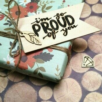 Hand-lettered wooden gift tag .  Free tutorial with pictures on how to create a piece of lettering art in under 120 minutes Inspired by letters, words & names. How To posted by Vaessen Creative.  in the Home + DIY section Difficulty: Simple. Cost: Absolutley free. Steps: 3