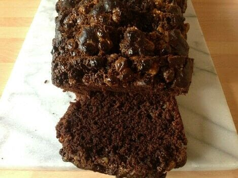 Chocolate loaf  .  Free tutorial with pictures on how to bake a chocolate cake in under 70 minutes by cooking and baking with cocoa, plain flour, and brown sugar. Recipe posted by Super Madcow.  in the Recipes section Difficulty: Easy. Cost: Cheap. Steps: 6