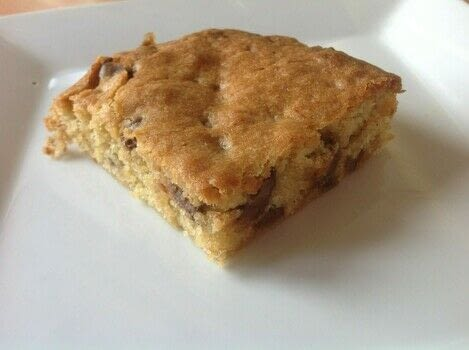 .  Free tutorial with pictures on how to bake a bar / slice in under 50 minutes by cooking and baking with plain flour, brown sugar, and sugar. Recipe posted by Super Madcow.  in the Recipes section Difficulty: Easy. Cost: Cheap. Steps: 4