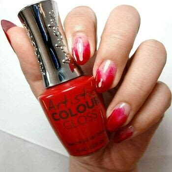 Red Marble Nails .  Free tutorial with pictures on how to paint a marbled nail in under 60 minutes using nail art brush, red gel polish, and artistic correction gel. How To posted by Lacquered Lawyer.  in the Beauty section Difficulty: Simple. Cost: Cheap. Steps: 5