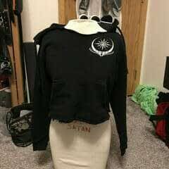 Sexy Obey Croped Hoodie