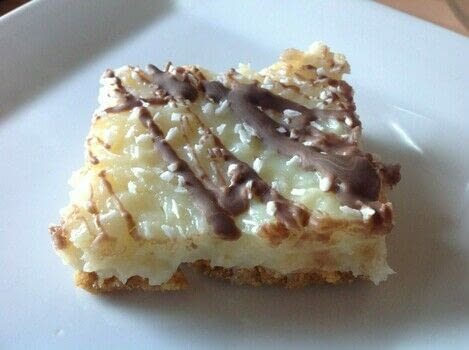.  Free tutorial with pictures on how to bake a bar / slice in under 30 minutes by cooking and baking with oreos, butter, and corn flour. Recipe posted by Super Madcow.  in the Recipes section Difficulty: Easy. Cost: Cheap. Steps: 7