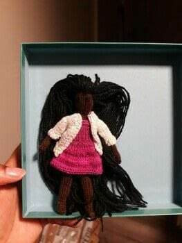 Tiny knitted doll .  Make a ballerina plushie using knitting needles and yarn. Creation posted by Essence.  in the Yarncraft section Difficulty: Simple. Cost: 3/5.