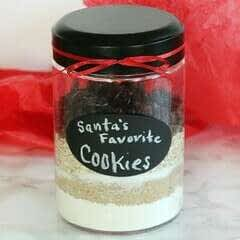Dark Chocolate Cranberry Oatmeal Cookie Mix Gift