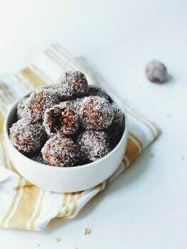 No need to bake balls .  Free tutorial with pictures on how to make a chocolate in under 20 minutes by baking with salted butter, sugar, and unsweetened cocoa powder. Recipe posted by Krumbleberry.  in the Recipes section Difficulty: Easy. Cost: Absolutley free. Steps: 2