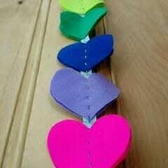 Rainbow Heart Hanger