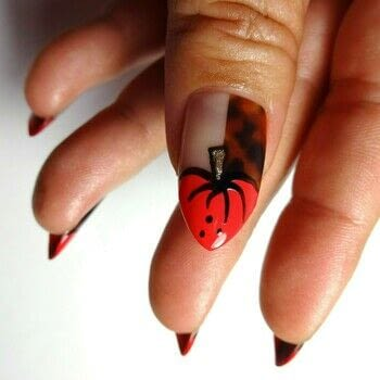 Easy Fall Mani .  Free tutorial with pictures on how to paint seasonal nail art in under 60 minutes using nail art brush, tortoise shell lacquer strips, and orange nail polish. How To posted by Lacquered Lawyer.  in the Beauty section Difficulty: Easy. Cost: 3/5. Steps: 2