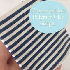Making Perfect Polymer Clay Stripes