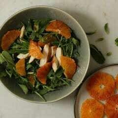 Zingy Arugula And Blood Orange Salad