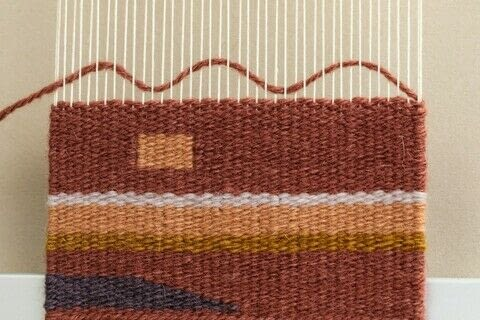 The Art of Tapestry Weaving .  Free tutorial with pictures on how to make a techniques in under 120 minutes by weaving with weaving frame and yarn. How To posted by Storey Publishing.  in the Other section Difficulty: 4/5. Cost: 3/5. Steps: 4
