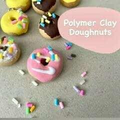 Polymer Clay Doughnuts!