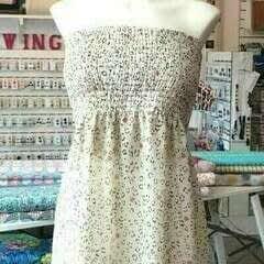 Easy Strapless Dress