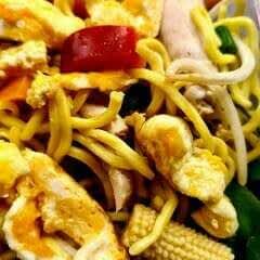 Chicken Noodle Pot