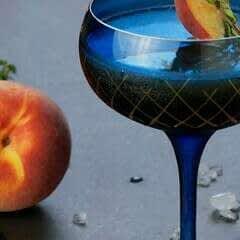 Peach Gazda Whiskey Cocktail