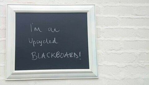 Make a Cheap Blackboard in 30 Minutes! .  Free tutorial with pictures on how to make a chalkboard in under 120 minutes by decorating with chalkboard paint, frame, and paintbrush. Inspired by chalkboard. How To posted by thecarpentersdaughter.  in the Decorating section Difficulty: Simple. Cost: Cheap. Steps: 3