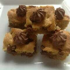 Cookie Bites With Fudge Frosting