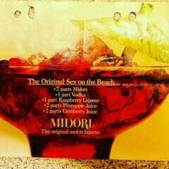 Sex On The Beach Original Recipe 70s