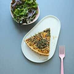 Sesame Full Tofu Quiche