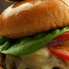 The Ultimate Veggie Cheese Burger