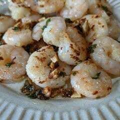 Haru's Garlic Prawns