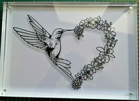 The delicacy of nature's elements .  Free tutorial with pictures on how to cut a piece of papercutting in 13 steps by creating and papercrafting with drawing, cutting knife, and black paper. How To posted by Arnaud  P.  in the Papercraft section Difficulty: 4/5. Cost: Absolutley free.
