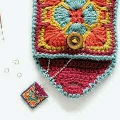 Envelope Belt Purse And Necklace