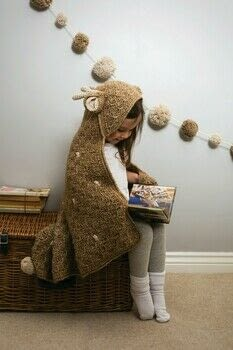Fairytale Blankets to Crochet .  Free tutorial with pictures on how to stitch a knit or crochet blanket in 10 steps by crocheting with yarn, yarn, and crochet hook. Inspired by deer. How To posted by Search Press.  in the Yarncraft section Difficulty: 3/5. Cost: 3/5.