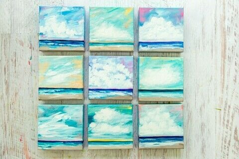 Mixed Media Color Studio .  Free tutorial with pictures on how to paint a landscape in under 60 minutes by creating with canvas, paintbrushes, and acrylic paint. How To posted by Aurum Press.  in the Art section Difficulty: Simple. Cost: Cheap. Steps: 13