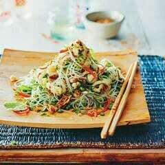 Kaffir Lime, Squid & Noodle Salad