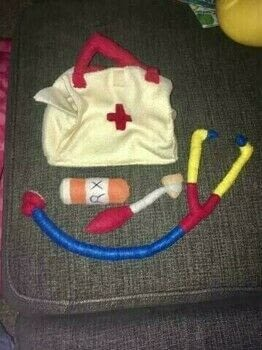 Felt Doctor Bag .  Make a home / garden project using felt or fleece and stuffing. Creation posted by Rhianna S.  in the Sewing section Difficulty: Simple. Cost: Cheap.