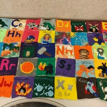 Stuffed Myth Blocks .  Make a babies & kids using felt, embroidery flosses, and stuffing. Creation posted by Rhianna S.  in the Sewing section Difficulty: 4/5. Cost: 3/5.