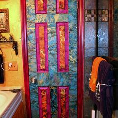 Decoupage Door