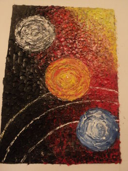 Acrylic&oil paiting .  Create a drawing or painting by decorating with art. Creation posted by Irena B. Difficulty: Easy. Cost: No cost.