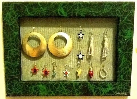 .  Make an earring hanger in under 60 minutes Inspired by vintage & retro and clothes & accessories. Version posted by craftylilred. Difficulty: Simple. Cost: Cheap.