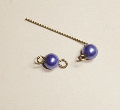How to make a dangle earring. How To Make Simple Earrings - Step 3