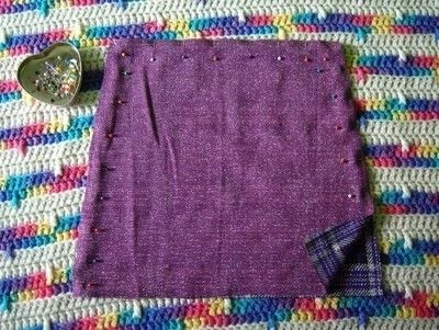 How to make a pinafore dress. Skirt To Pinafore Dress ~Transformation~ - Step 3