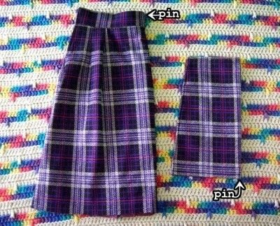 How to make a pinafore dress. Skirt To Pinafore Dress ~Transformation~ - Step 9
