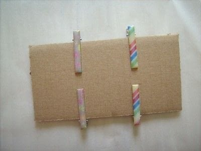 How to make an embellished hair clip. Washi Tape Barrettes - Step 8