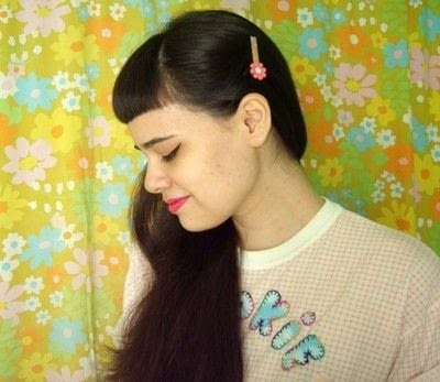 How to make an embellished hair clip. Washi Tape Barrettes - Step 10