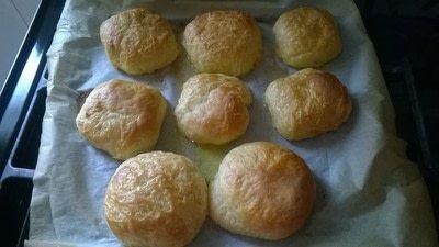 How to bake a roll or bun. Aberdeen Butteries (Rowie) - Step 13