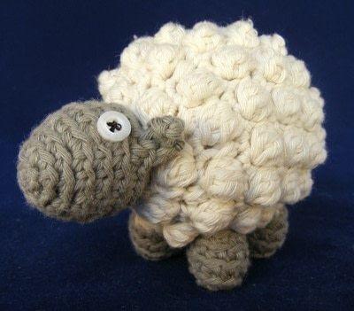 How to make a lamb / sheep plushie. Bobble Sheep - Step 7
